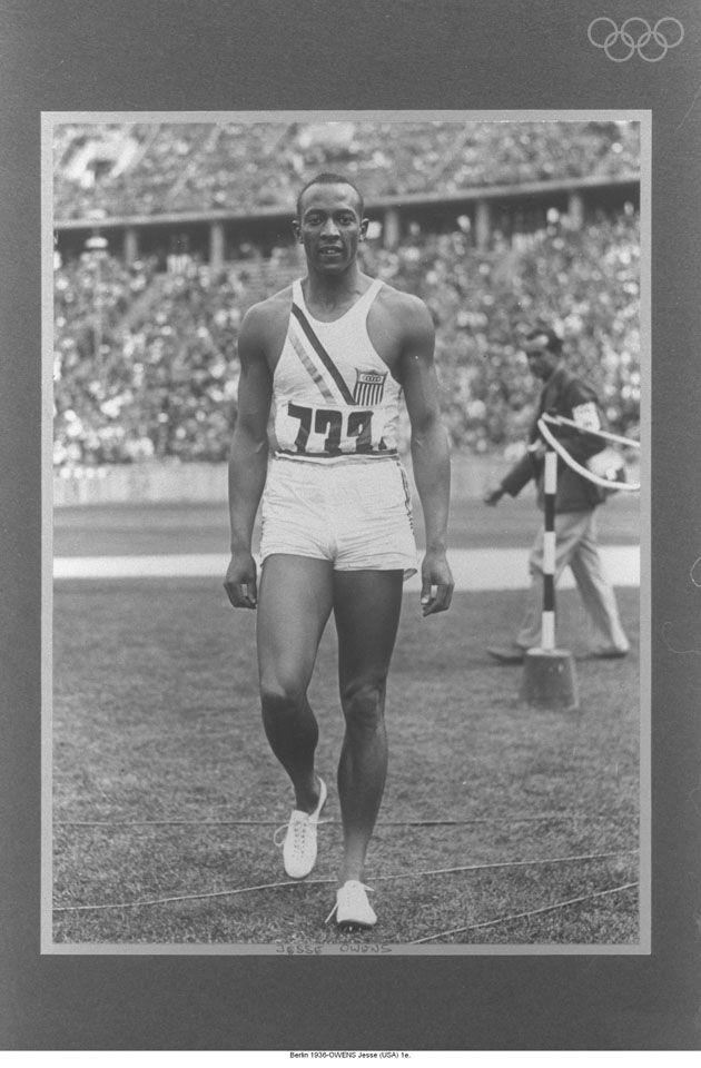 1936 Olympian Great, Jesse Owens