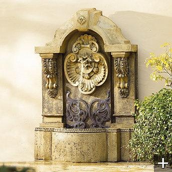 tuscany wall fountain - photo#26