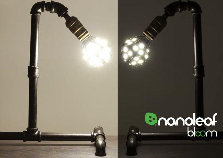 Fancy Nanoleaf Bloom LED Lampe dimmbar ohne Dimmer ersetzt Watt E Birne W Lumen