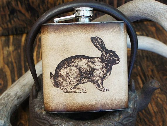 38 best customizable leather flasks images on pinterest flasks quirky easter gifts that arent chocolate negle Images