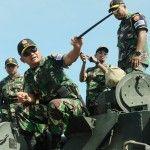 Dirlatgab TNI Kunjungi Daerah Latihan Gabungan TNI di Asembagus