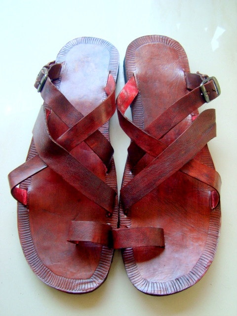 Handmade Sandals , Indian Leather