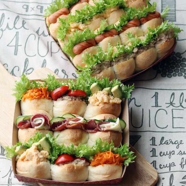 運動会のお弁当は「ちぎりパンサンド」で盛り上がろう!