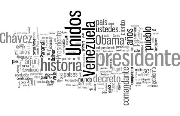 TagCloud Discurso de Nicolás Maduro (Presidente de Venezuela) en la VII Cumbre de las Américas (Panamá,2015) - Enlace permanente de imagen incrustada