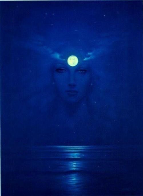 Moon Goddess  A popular moon goddess was Selene  ( or Luna), sister to Helios - the sun god.  Greek mythology called Artemis a virgin godd...
