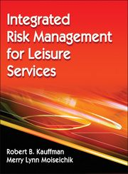 Integrated Risk Management for Leisure Servicescombines foundational legal information and risk management issues with accident prevention, incident response and management, and incident evaluation. Designed as an undergraduate text and professional reference, this book helps you understand risk management, the accident process, and how to develop and execute integrated risk management, safety, and emergency action plans.