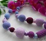 il 170x135.3350823741 150x135 Collana di perline alluncinetto   crochet beads necklace