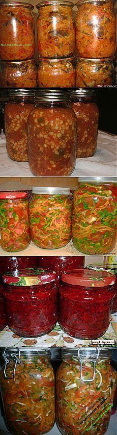 Бомбовые рецепты заправок для борщей,супов,солянок и расольников на зиму   .