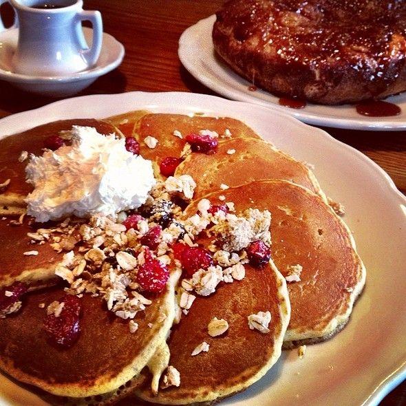 Wheat Germ Pancakes @ Walker Bros. The Original Pancake House