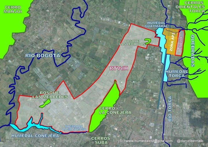 Mapa Reserva con zona AP-2