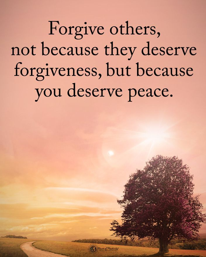Type Yes If You Agree Forgive Others Not Because They Deserve