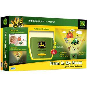 Uncle Milton Wild Walls, Farm in My Room, John Deere
