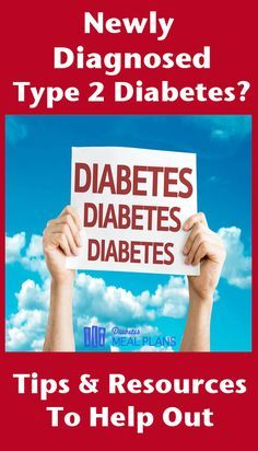 Some great tips and resources if you're newly diagnosed type 2 diabetes. End the confusion and understand what to eat and take care of yourself.