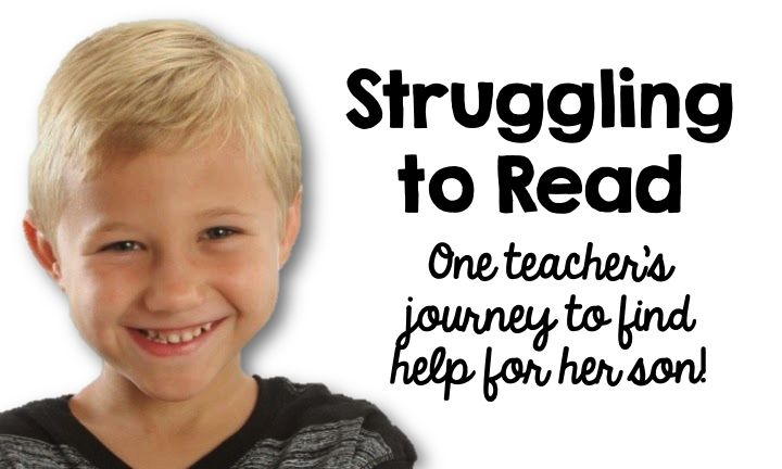 One teacher's journey to finding help for her struggling reader! #SimplyKinder