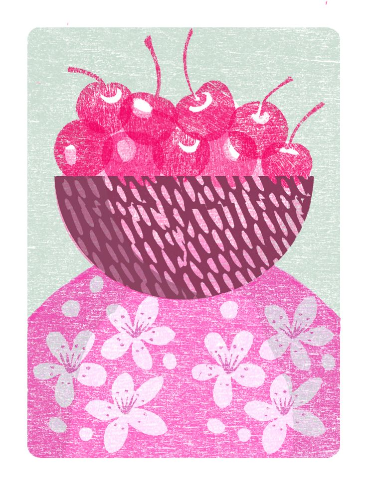 July Illustration for Gardens magazine
