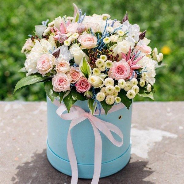 Красивые букетики цветов — photo 14