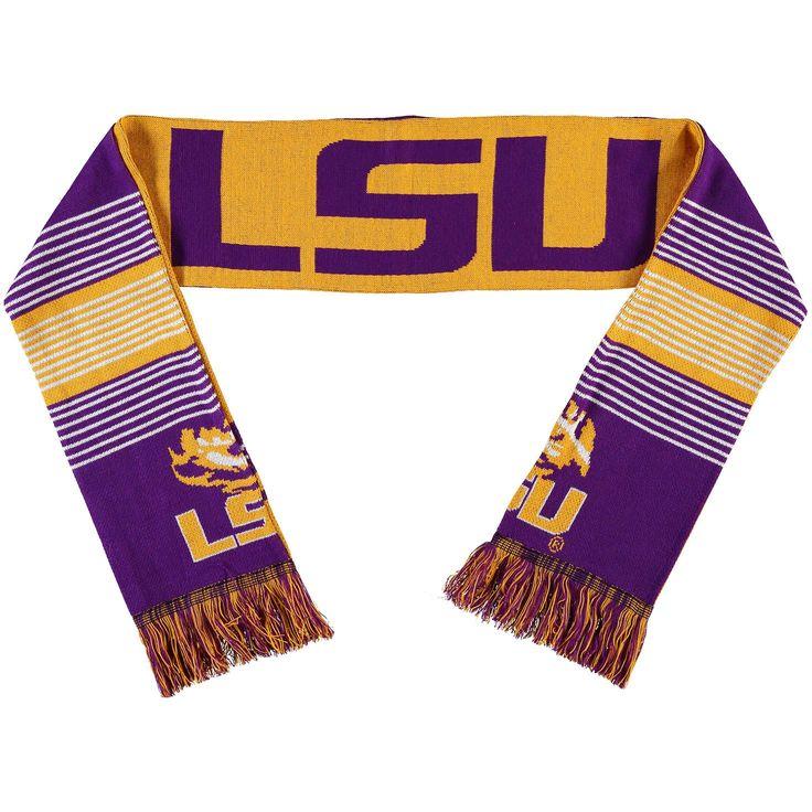 LSU Tigers Split Logo Reversible Scarf - $15.99