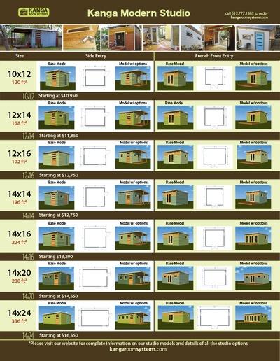 Pricing for Kanga modern shed Garage Project Pinterest