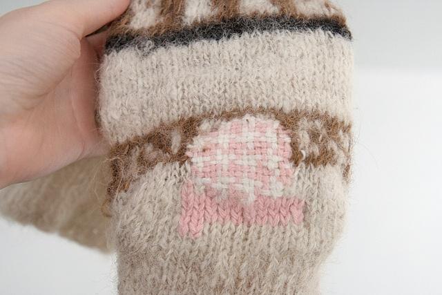darning socks