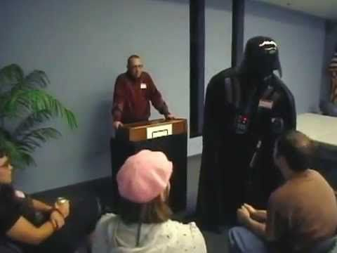 Darth Vader Goes To Anger Management.   What do you expect now that Disney owns Star Wsrs?