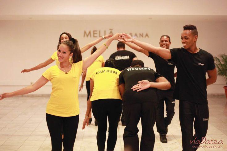 Presentación para los talleres de bailes populares cubanos. Lugar: Hotel Melia Habana