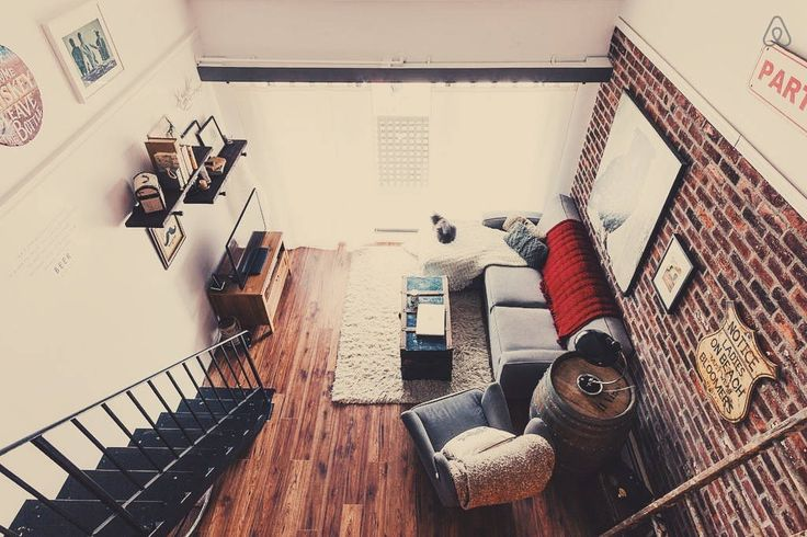 Check out this awesome listing on Airbnb: Private Room in Brick Loft Apt - Lofts for Rent in Vancouver