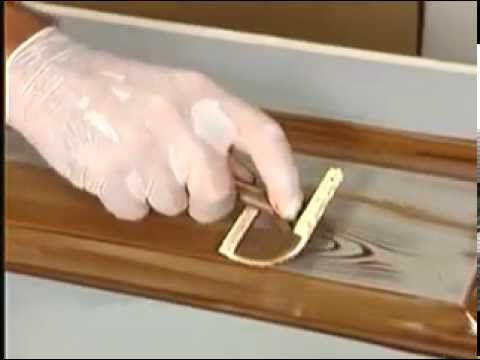 Making a steel door look like wood - YouTube