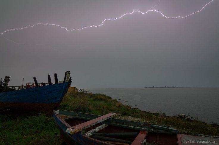 Καταιγίδα μ' αστραπές. 06/10/2014.