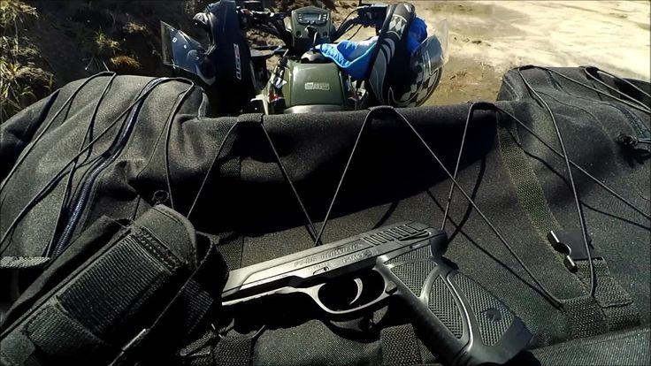 Airgun  - Outdoor cans shooting