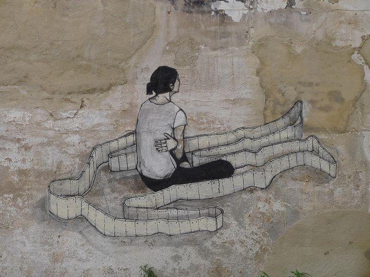 March , 2012 Hyuro New Mural In Valencia, Spain