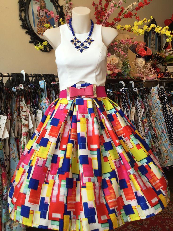 Bridget Double Box Pleated Skirt – GiGi's Fairy Fashion