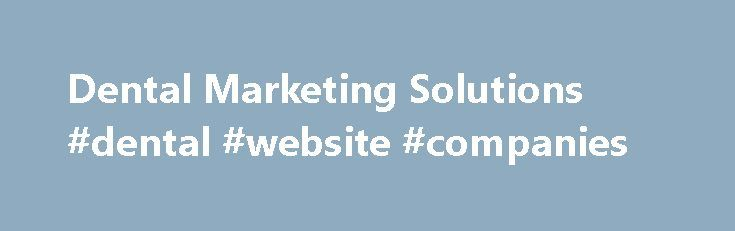 """Dental Marketing Solutions #dental #website #companies http://dental.remmont.com/dental-marketing-solutions-dental-website-companies-2/  #dental website companies # Terms and Conditions Use of our Portal (this """"Website"""" or """"Portal"""") and associated services, including our prior authorization and related services, including any updates, new features and enhancements to these services (collectively, """"Services""""), is governed by the terms and conditions below (""""Terms of Conditions""""). These Terms…"""