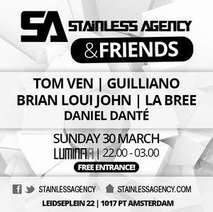 Stainless & Friends Luminaa Amsterdam zondag 30-03-2014