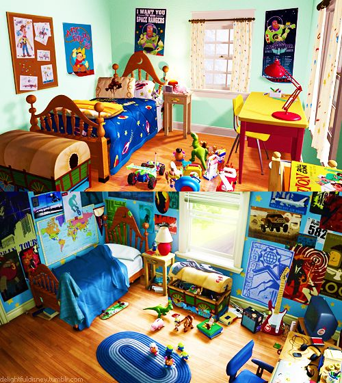 toy story themed room on Pin By Catalina On Disney Toy Story Room Toy Story Bedroom Andys Room Toy Story
