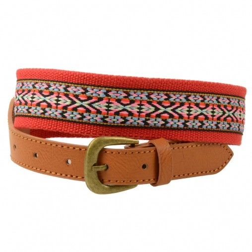 SACHA // Red aztec belt € 14,95