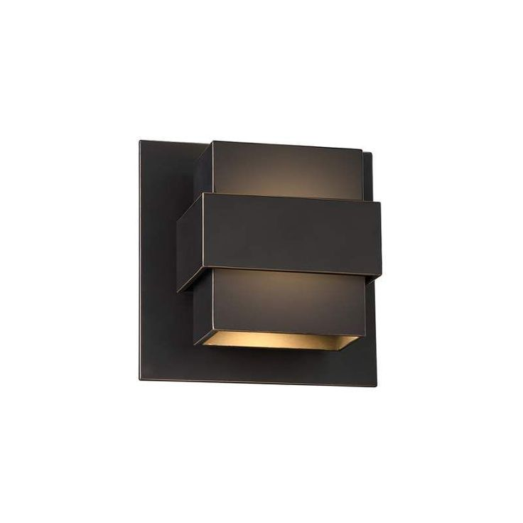 View the Modern Forms WS-W30507 Pandora 1 Light LED Indoor / Outdoor Wall Sconce - 7 Inches Wide at LightingDirect.com.