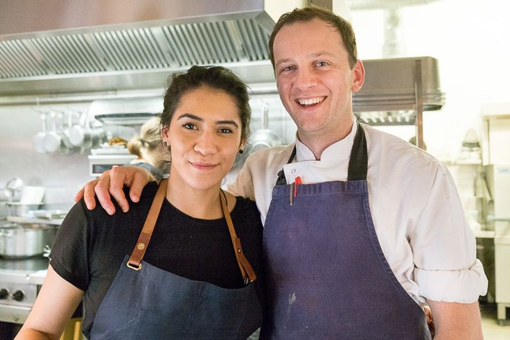 Daniela Soto-Innes of Cosme and James Lowe of Lyle's