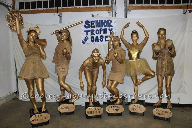 Golden Trophy Case Group Costume... Coolest Halloween Costume Contest