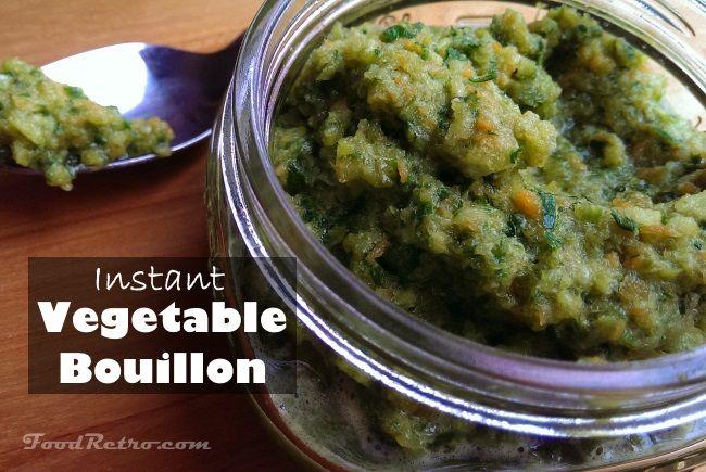 Homemade Vegetable Bouillon