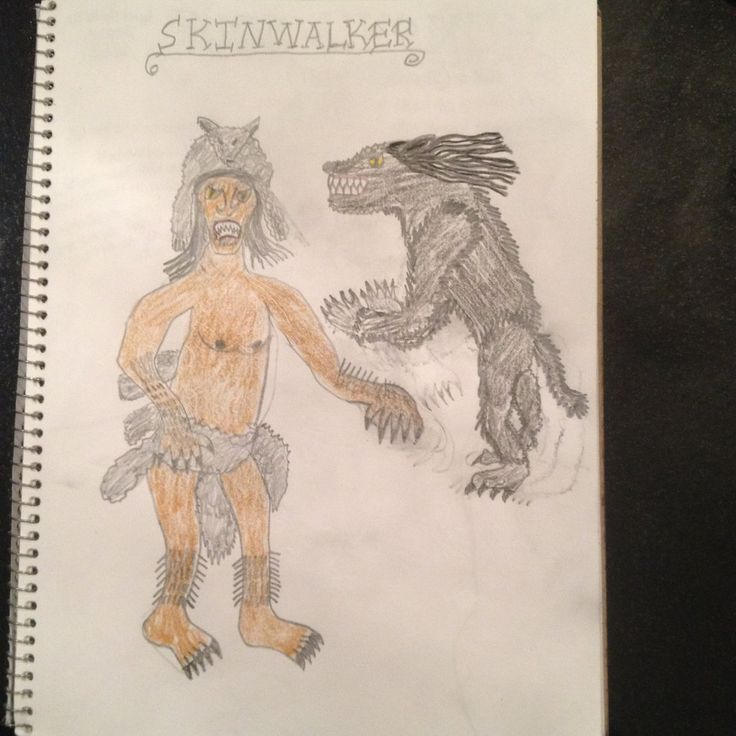 In many Native American legends, a skin-walker is a person with the supernatural ability to turn into any creature he or she desires. To be able to transform, legend sometimes requires that the skin-walker wears a pelt of the animal. In most cases, this pelt is not used in modern times because it is an obvious sign of them being skin-walkers. It's a common theme found throughout cultures all over the world and is referred to as shapeshifting by anthropologists. The Navajo have some of the...