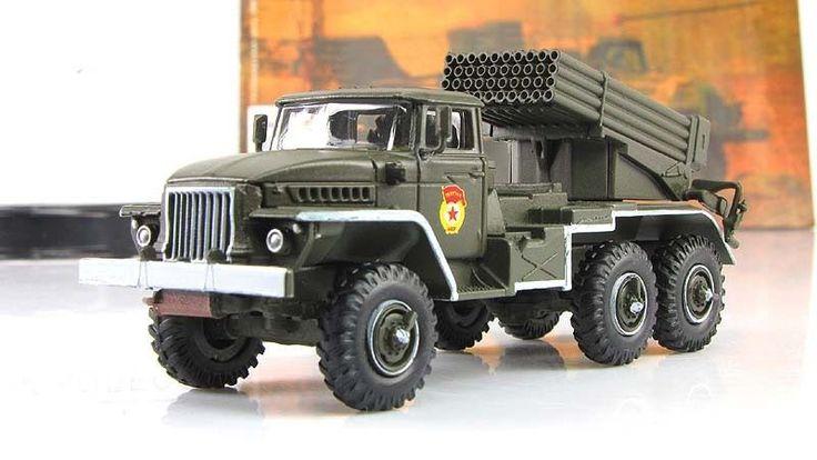 "1:72 BM-21""GRAD"" Soviet multiple rocket launcher Fabbri mod & mag №33 #gefabbri"