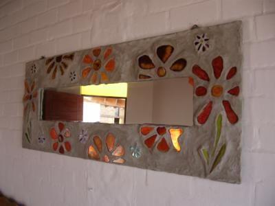 Imagenes de espejos decorados con gemas buscar con for Marcos decorados para espejos