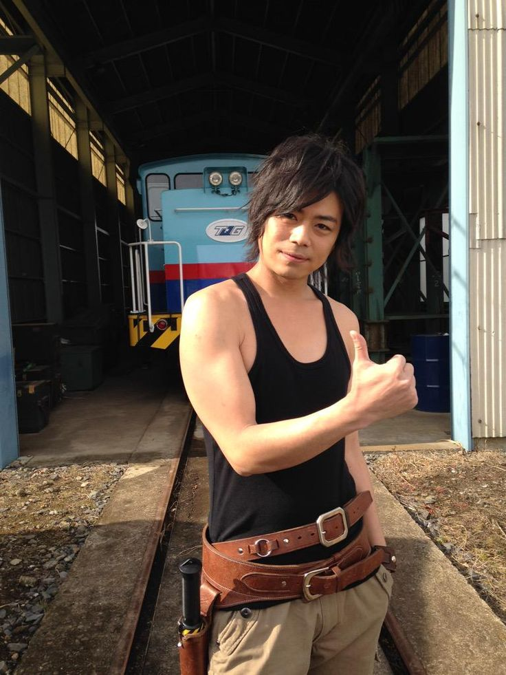 """All in all, Namikawa Daisuke joining us to """"go and super-express No. 7 of ressha sentai toqger dream came back,"""" June 24, 2015 sale and rental start (* ^^ *) By the way, it was decided to tank top shadow could not be considered other than Namikawa's at the time (laughs)"""