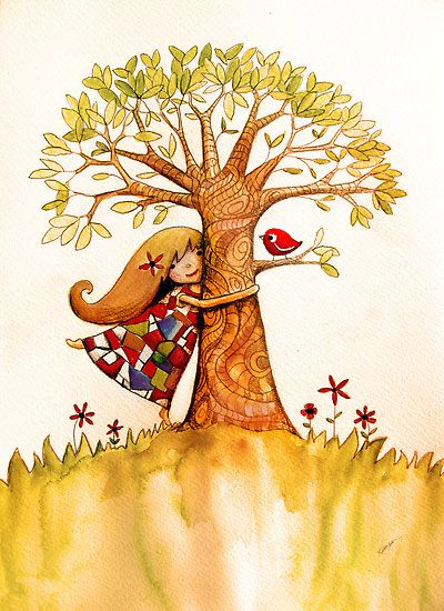 Tree Hugs by Karin Taylor
