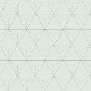 voor de hal - love this wallpaper design by Eijffinger behang grafische driehoeken L41021