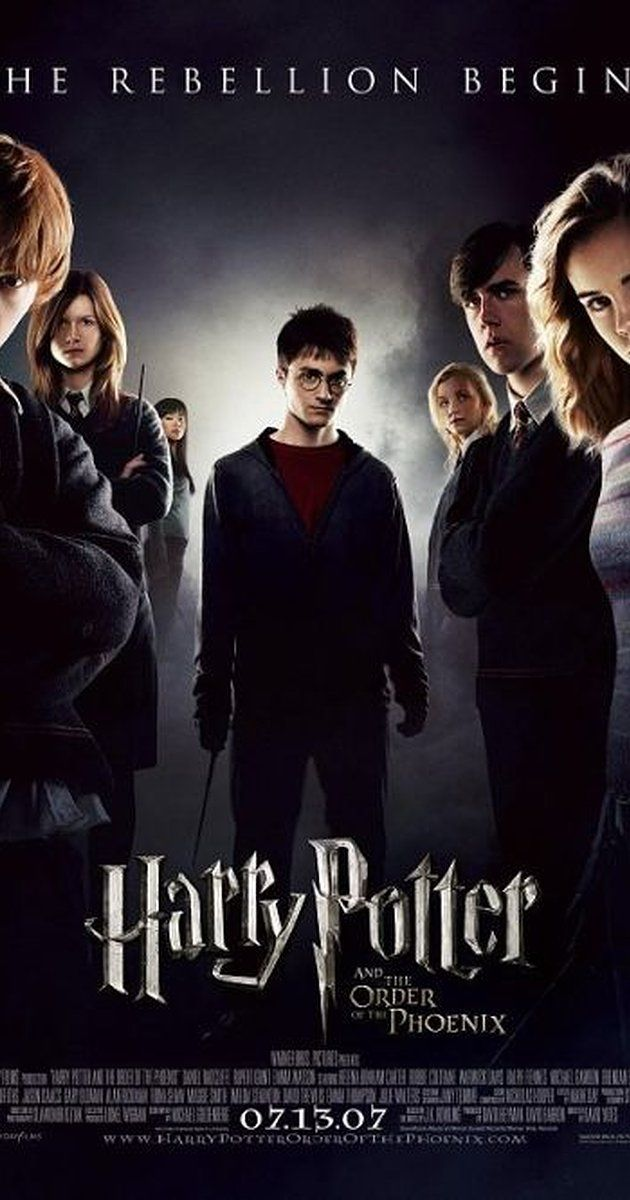 Directed by David Yates.  With Daniel Radcliffe, Emma Watson, Rupert Grint, Brendan Gleeson. With their warning about Lord Voldemort's return scoffed at, Harry and Dumbledore are targeted by the Wizard authorities as an authoritarian bureaucrat slowly seizes power at Hogwarts.