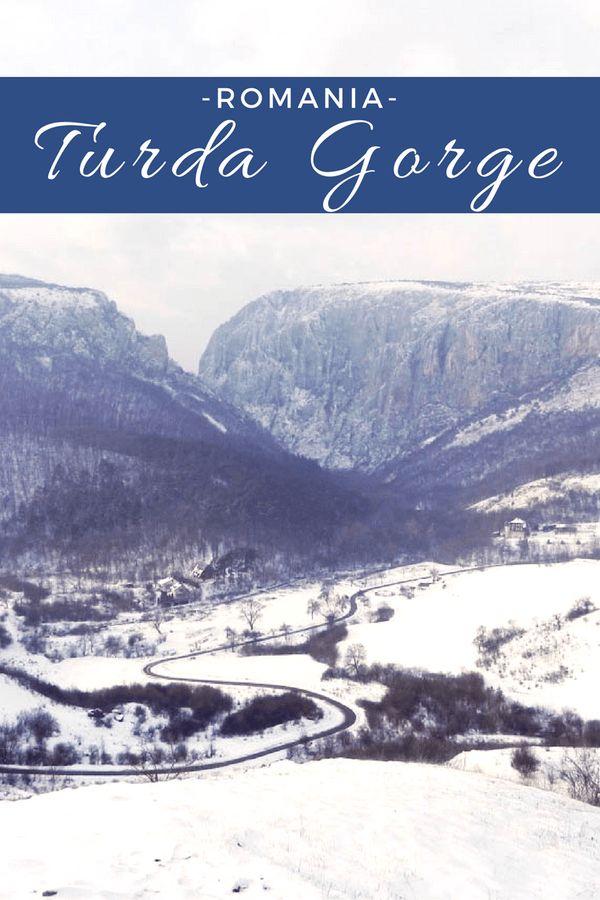 The Winter Face of Turda Gorge   ROMANIA