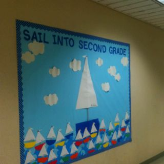 Sail into Second Grade