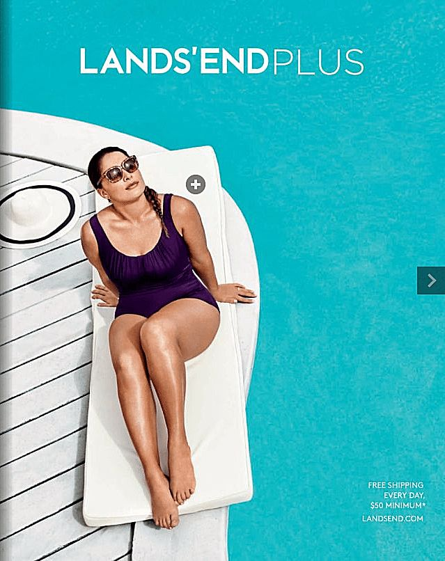 Free, Plus-Size Clothing Catalogs You Can Get in the Mail: Lands' End Plus Size Clothing Catalog