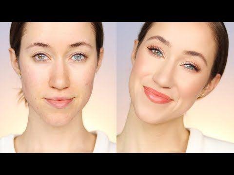 Tägliches Make-up-Tutorial für Drogerien im Frühjahr 2018 – YouTube –  #drogerien #fruhjahr #…